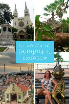 24 hours in Guayaquil Ecuador.  Guayaquil was my first stop in Ecuador, and a useful stop off before flying to the Galapagos Islands.  This is what I got up to on my stopover in Guayaquil!