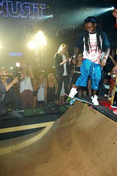 LilWayne & #TRUKFIT Throw Down at The Magic Show & #1OAKLV