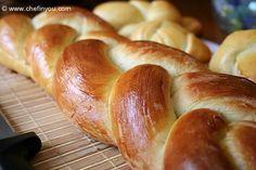Zopf (Zupfe)- Swiss Braided Loaf Bread