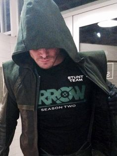 From Stephen Amell's arrow... & straight to my heart.!! :-)