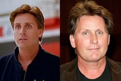 The Mighty Ducks was Emilio Estevez's first real post-Brat Pack success, and he went on to star in both of the sequels. These days, besides enjoying his status as the non-insane brother in his family, he seems to be more comfortable behind the camera. He wrote and directed the 2006 movie Bobby, which was nominated for Best Film at the Golden Globes, and in 2011 he directed his dad, Martin Sheen, in The Way. #snakkle #celebs #hockey