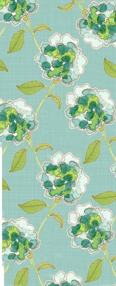 etsy.com Hydrangeas green blue white