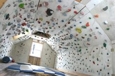 Rock Climbing Photo: climbing cave – Rock Climbing Photo: climbing cave – – Famous Last Words Indoor Climbing Wall, Rock Climbing Walls, Sport Climbing, Cool Beds For Kids, Bouldering Wall, New House Plans, Trendy Home, Ikea, At Home Gym