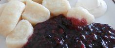 Recept Jogurtové knedlíky s ovocnou omáčkou Izu, Mashed Potatoes, Food And Drink, Beef, Ethnic Recipes, Gold, Top Recipes, Yogurt, Meat
