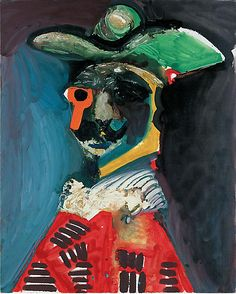 Buste (1970) by Pablo Picasso, via Gagosian Gallery; private collection (© PAR Photo Marc Domage)