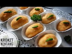 Enak Banget! Tinggal digoreng sewaktu waktu bisa untuk Frozen Food | KROKET KENTANG ISI AYAM - YouTube Snack Box, Donuts, Breads, Fries, Muffin, Snacks, Cookies, Baking, Breakfast