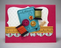 Stamping with Lulu: OH, YOU'RE SEW SUITE!