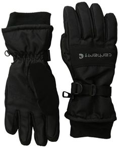 Waterproof snowboarding gloves by Carhartt $19.00