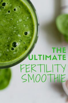 A recipe for the ultimate fertility smoothie with super food add-ins for specific infertility diagnoses.