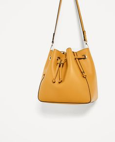 Image 5 of CONVERTIBLE BUCKET BAG from Zara
