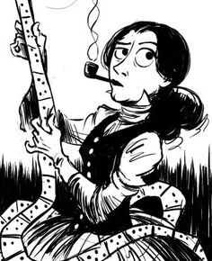 Fun and Quirky comic about victorian era mathematicians Ada Lovelace & Charles Babbage