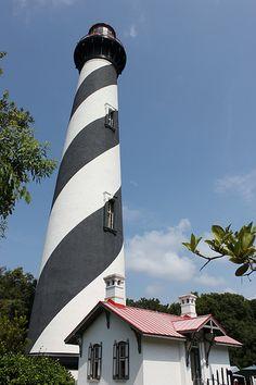 St Augustine #Lighthouse, #Florida - taken in 2010