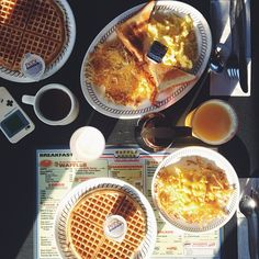 All Star Breakfast, one of my most favorite meals, ever! Most Favorite, Favorite Things, Waffle House, Snack Recipes, Snacks, Banana Pancakes, Recipe Collections, Breakfast In Bed, I Love Food