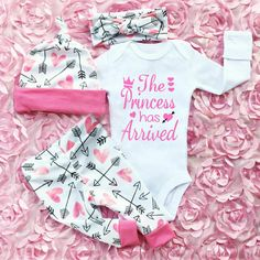 Us Infant Newborn Baby Girl Outfits Clothes Romper Bodysuit Pants Leggings Size 0 3 Months Blush Pink Baby Girl Clothes Newborn Coming Home Outfit For Baby Girl Newborn Winter Hospital Outfit So Cute Baby, Cute Baby Clothes, Cute Babies, Baby Girl Clothes Daddy, Babies Clothes, Cute Baby Girl Outfits, Babies Stuff, Funny Baby Girl Onesies, Baby Girl Outfits Newborn Winter