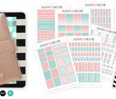 Full Planner Kit Ocean Breeze