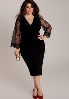 3bc4bf575e5 Christmas dresses for plus size - http   pluslook.eu party