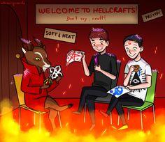 Dan and Phil and Satan Dan And Phil Fanart, Phan Is Real, Dan And Phill, Phil 3, Danisnotonfire And Amazingphil, Cat Whiskers, Fandoms, Phil Lester, Dan Howell