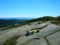 Feeling the pulse of the planet after a hike up Mount Sergeant, Acadia National Park, ME