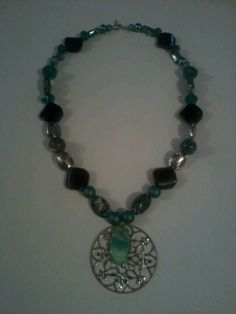 Beaded necklace. $ (8.00)