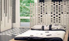Κρεβατοκάμαρα. Ιδέες ανακαίνισης - Oikiastyle.gr Decor, Tiles, Bed, Home Decor, Ceramica, Furniture