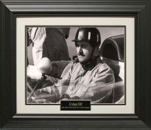 Graham Hill Photo Matted and Framed