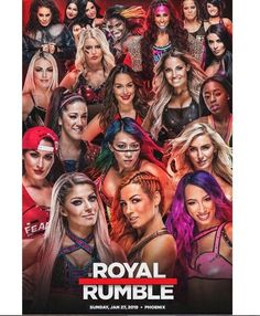 Royal Rumble in the house Wrestling Superstars, Wrestling Divas, Women's Wrestling, Wwe Nxt Divas, Wwe Total Divas, Wwe Party, Carmella Wwe, Becky Wwe, Wwe Royal Rumble