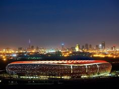 South Africa's Soccer City Stadium used in the 2010 FIFA World Cup