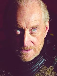 Charles Dance as Tywin Lannister on Game of Thrones