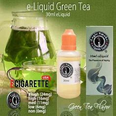 Green Tea fans love our Green Tea vape liquid from Logic Smoke. It has a gentle flavor that calms and soothes. Its fantastic flavor is great by itself, but can also be enjoyed when mixed with fruit or citrus flavors. Pick up a bottle of Green Tea Logic Smoke vape liquid today and enjoy the flavor of Green Tea anytime. #30ml #GreenTea #ECigaretteUSA