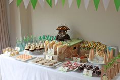 A fun birthday party featuring Gruffalo themed treats!