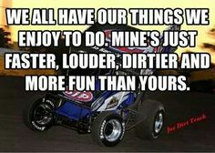 Love me some good Ole dirt track racing Go Kart Racing, Sprint Car Racing, Dirt Track Racing, Nascar Racing, Fox Racing, Race Quotes, Joe Dirt, Speedway Racing, My Champion