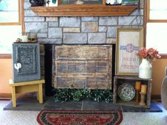 screen via style screens creative chic and com diy french shelterness fireplace edithandevelynvintage