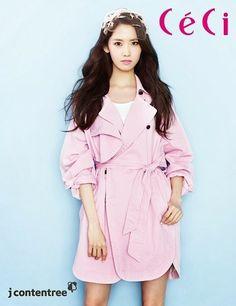 Yoona SNSD Girls Generation - Ceci Magazine March Issue 2014