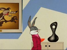 The many depictions and renderings of mid century modern design in several Bugs Bunny cartoons. Bugs Bunny Cartoons, Looney Tunes Cartoons, Cartoon Movies, Cartoon Characters, The Jetsons, Favorite Cartoon Character, Disney And More, Lovers Art, Mid-century Modern