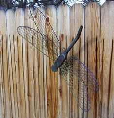 Dragonfly from BBQ fork