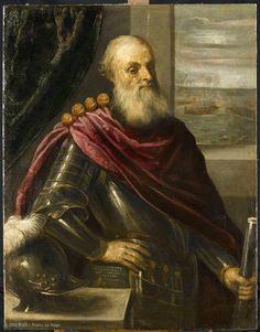 Portrait de Vincenzo Cappello, amiral vénitien (1467 - 1541),dit autrefois Portrait de Nicolò Cappello, gouverneur de galère | Musée du Louvre | Paris ~ ca1610