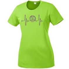 Come check out our new Volleyball designs! Need a performance shirt? We've got you covered with our heartbeat performance shirt!