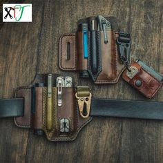 Multitool Leather Pocket Organizer Belt Waist Bag, Best shopping experience, new products added everyday. For best shopping experience visit us, trainedtools.com
