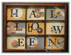 Halloween Shadow Box by stampercamper - Cards and Paper Crafts at Splitcoaststampers