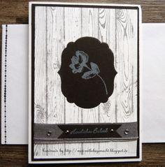 Trauerkarte, Beileidskarte mit Stampin Up Produkten