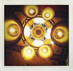 Interior from The Gilbert Scott Bar at St. Pancras Renaissance Hotel (London).