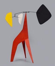 Alexander Calder, Untitled (Long Legged Red), 1966