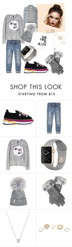 """Untitled #24"" by semir-cosic ❤ liked on Polyvore featuring Dolce&Gabbana, Hollister Co., H&M, Post-It, Links of London, GUESS and rag & bone"