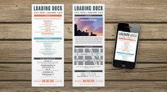Loading Dock menu design #brooklyn #design #tacos #workingassembly
