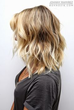 This looks lovely; I would need my hair permed and lightened but I think it would suit my face.