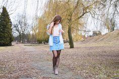 Mis Marli: Denim skirt  #mismarli #blogger #style #fashion #skirt #jeansskirt