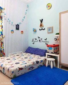 Visual بصري on Bedroom Wall Designs, Room Design Bedroom, Home Room Design, Small Room Bedroom, Girls Bedroom, Bedroom Decor, Ethnic Home Decor, Easy Home Decor, Mattress On Floor