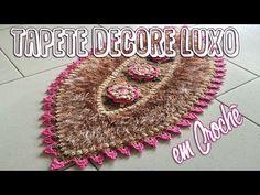 Carpet Stair Runners For Sale Carpet Crochet, Crochet Home, Crochet Dolls, Shag Carpet, Diy Carpet, Tapetes Vintage, Cheap Carpet Runners, Crochet Videos, Table Covers