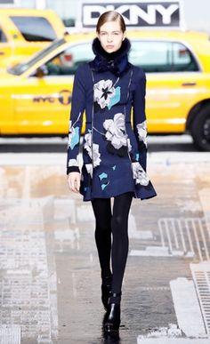 DKNY NY Fashion Week Fall 2012