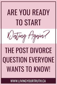 Dating a man going through a divorce advice